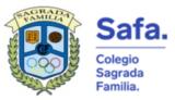 Agrupación deportiva del colegio Sagrada Familia de Zaragoza